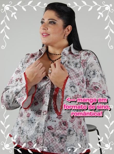 camisa floralAutoestima, Deixar De, Keka Demétrio, Seu Dia, Algun, Compor Seu, Elegantes De, De Compor, Apelo