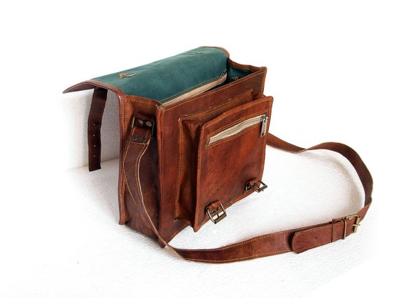 leather satchel leather messenger bag leather briefcase ...