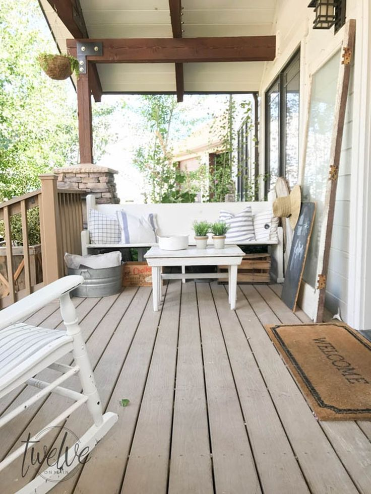 Best 20+ Front porch bench ideas on Pinterest | Front ...