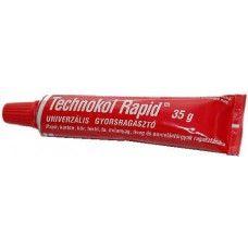 Technokol Rapid univerzális gyors ragasztó - Piros - 35 gramm - 249Ft