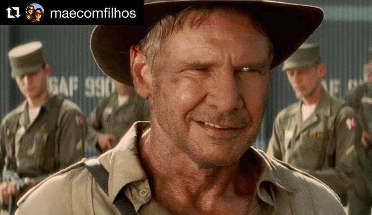 #Repost @maecomfilhos   Preparem o chapéu e o chicote que vem uma nova aventura de Indiana Jones por aí! Os estúdios Disney novos detentores dos direitos sobre a franquia confirmaram que a quinta aventura do arqueólogo chegará aos cinemas no dia 19 de julho de 2019.  Após muitas especulações que envolveram os nomes de Shia LaBeouf e Chris Pratt assumirem o protagonismo da série cinematográfica Harrison Ford foi novamente escalado para o papel principal e Steven Spielberg assume a direção do…