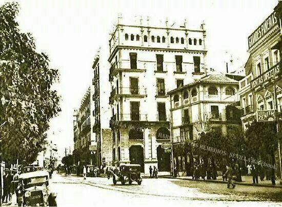 Sevilla antigua, La Campana año 1920 ❤