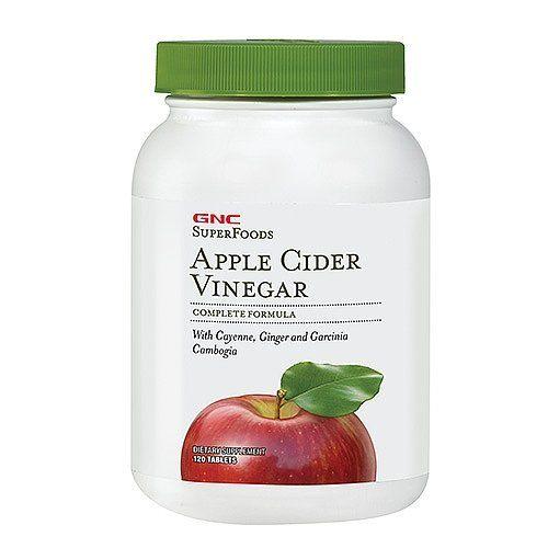 GNC SuperFoods Apple Cider Vinegar 120 Tablets >>> For more information, visit image link.