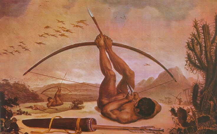 Dia do índio     Gravura de Jean-Baptiste Debret