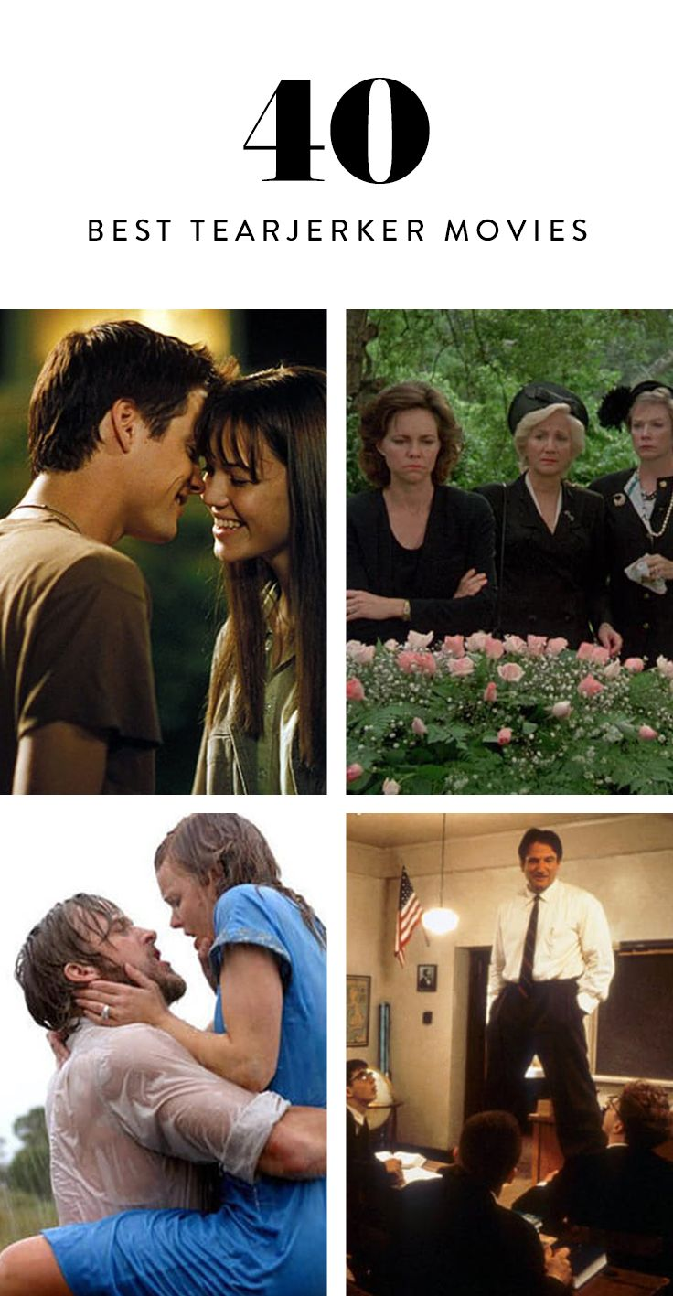 In need of a good cry? These 40 tearjerkers spell waterworks in no time. Browse our full line-up of our favorite sad movies.