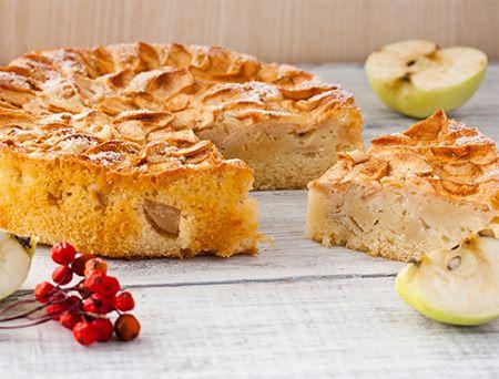 Bizcocho de manzana y yogur | Alimenta Sonrisas