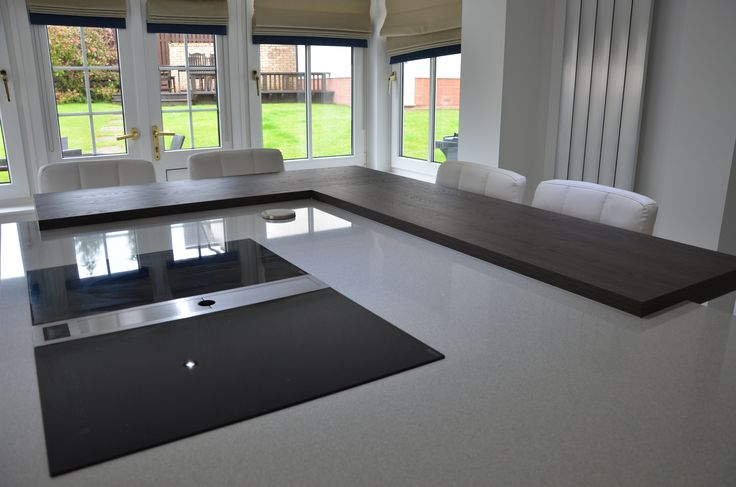 The island has a new state of the art induction hob by Bora, which has built in…