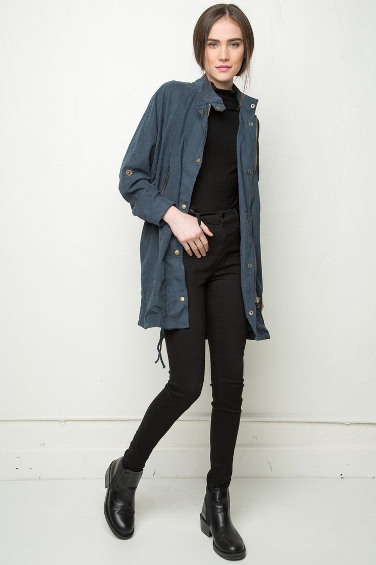 Brandy Melville Janie Jacket Outerwear Clothing