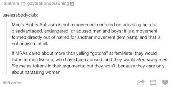 On the definition of activism: | The 19 Realest Tumblr Posts About Misogyny