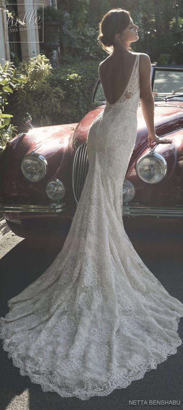 Netta BenShabu Wedding Dress Collection 2019: Une Fleur Sauvage