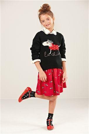 Black Dog Sweater