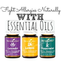 fight allergies naturally with essential oils