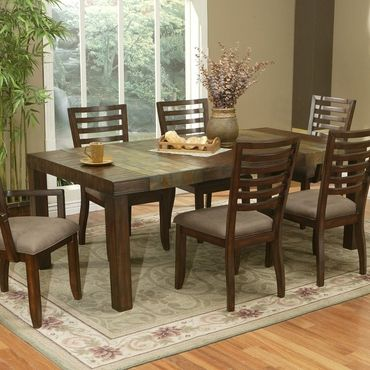 Alpine 469 22 Extension Dining Table Sedona