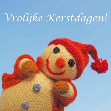 Knitted Snowman | Merry Christmas | @FairMail - Fair Trade Cards