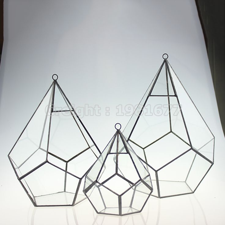 Cheap glass beads for decoration, Buy Quality decorative glass candles directly from China glass ball decoration Suppliers:  S/M/L Pentahedral Retro Nostalgia Geometric Glass Terrarium Handmade Glass Plant Terrarium Indoor Gardening Decoration&