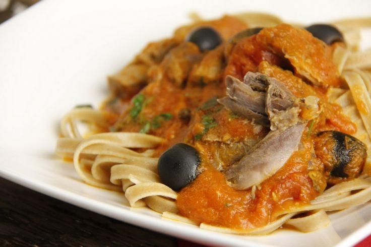 Recept voor een Italiaanse Ragu van eend