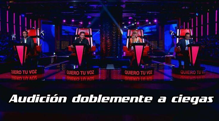 No te puedes perder #LaVozColombia, Así se viven las emociones  ¿Hombre o mujer? ¿Alto o bajo? Esta es una audición doblemente a ciegas.