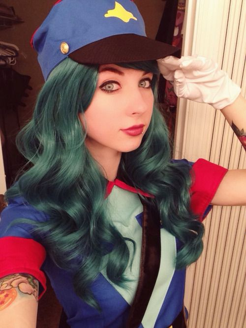 Officer Jenny pokemon anime cosplay by katilatah on tumblr #cosplay #pokemon #anime