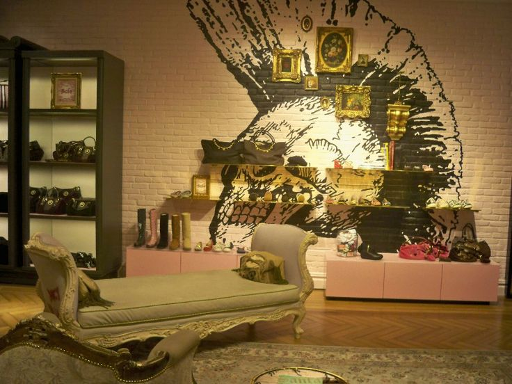 I Think The Inspiration Is The Juicy Couture Store I Love The Chaise In Our Local Store