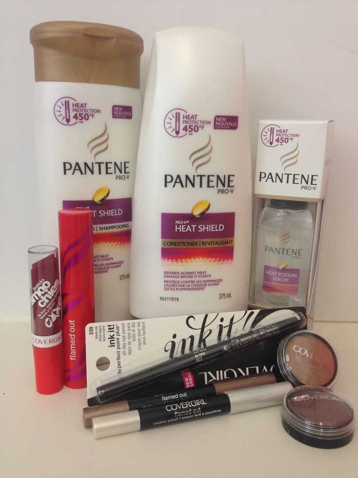 Enter to win a beauty prize pack (ARV $70) from Pantene and COVERGIRL.