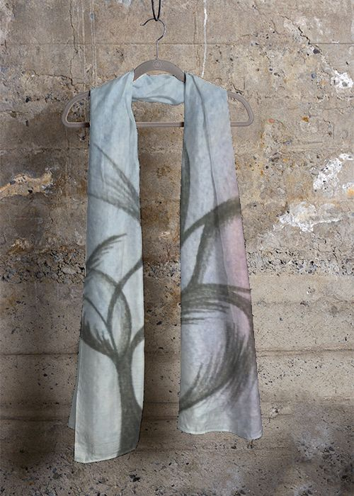 Cashmere Silk Scarf - Seeking A Better View by VIDA VIDA l4h3U3fnQW