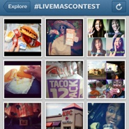Taco Bell Instagram Campagin