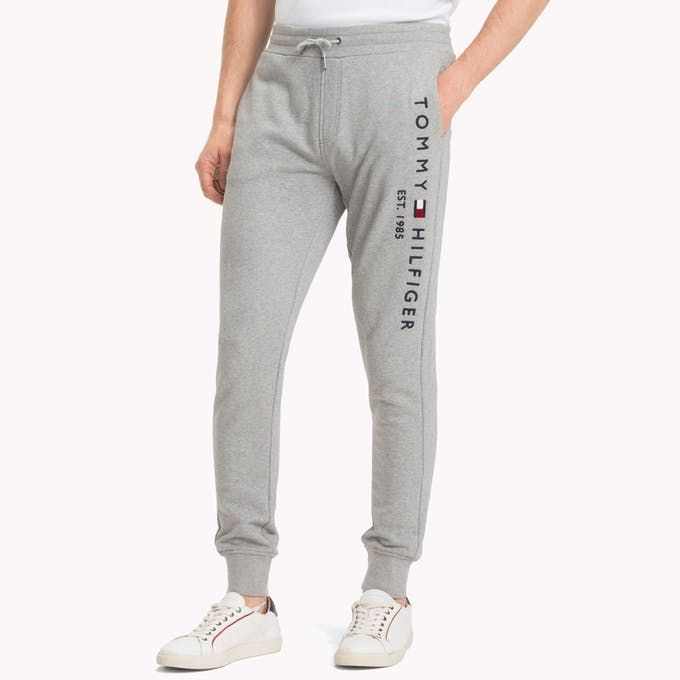 Tommy Hilfiger Sweatpant Shorts Pattern Sewing Tracksuit Outfit Mens Sweatpants