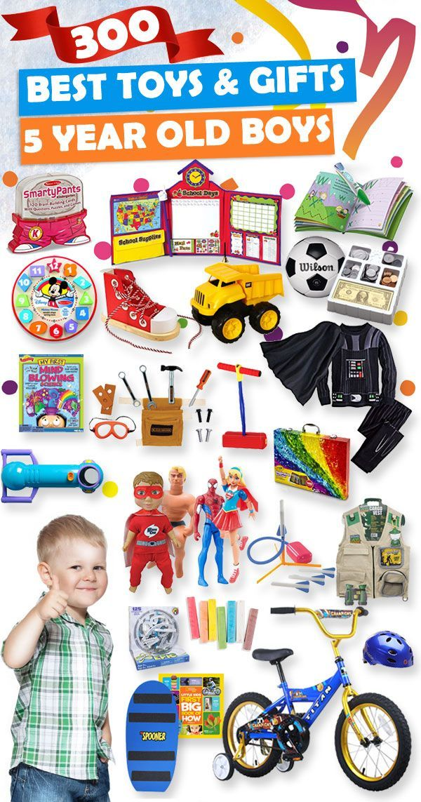 Tons Of Great Gift Ideas For 5 Year Old Boys