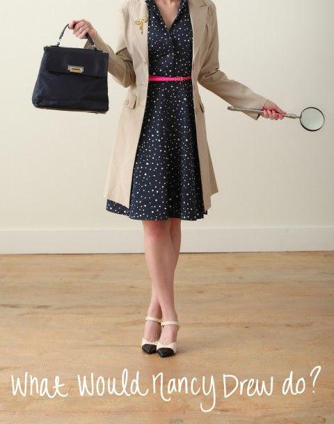 Nancy Drew via Ashley Brooke Designs