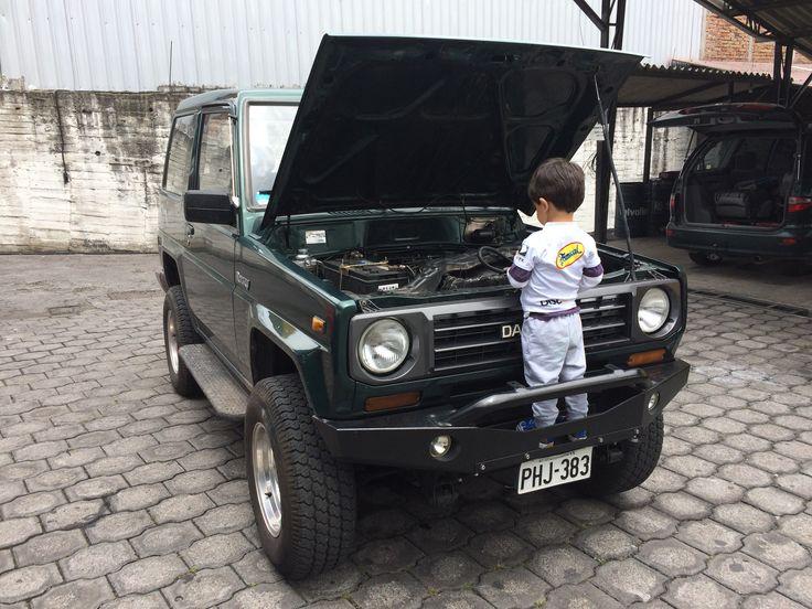 Daihatsu Rocky, por fin reparado y funcionando