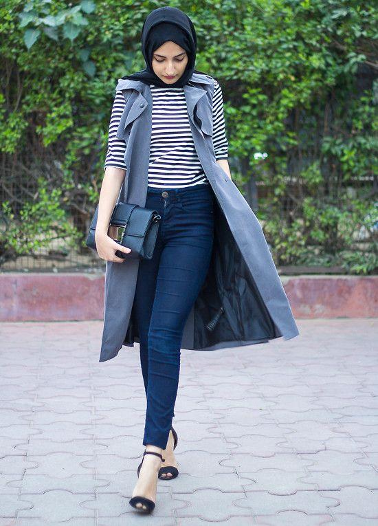 Ribet Memadukan Style Hijab Untuk Ke Kantor