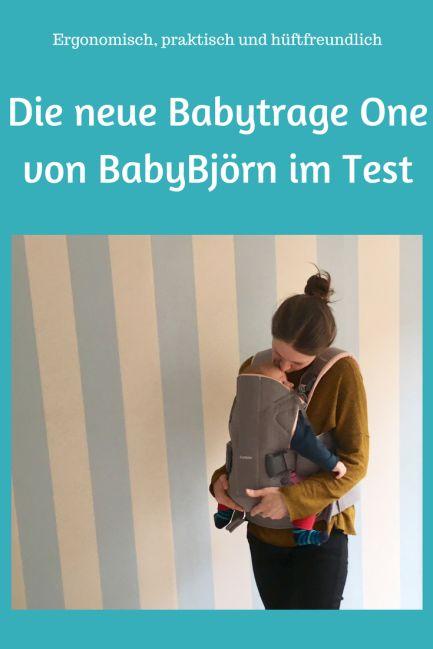 Babytrage One von BabyBjörn im Test: Wieso sie uns überzeugt hat und zur Babyausstattung gehört