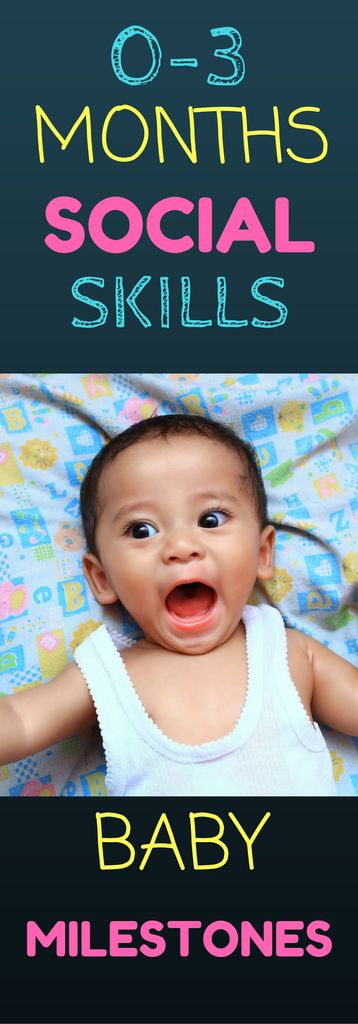 0-3 Month Social Skills: Find out what social skills look like in your 0-3 month old baby. Learn ways to encourage social skill development. Information in this article contains important milestones in your infants development!