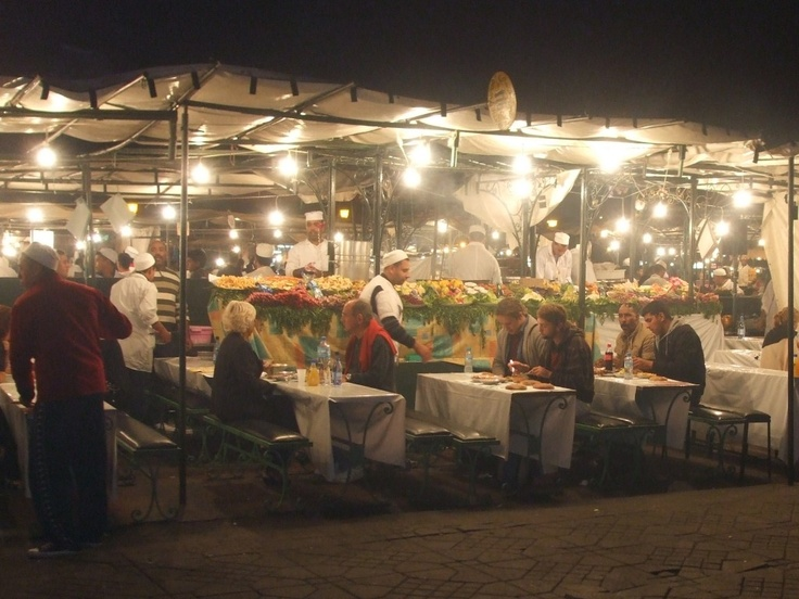 Things to do in Marrakech night market
