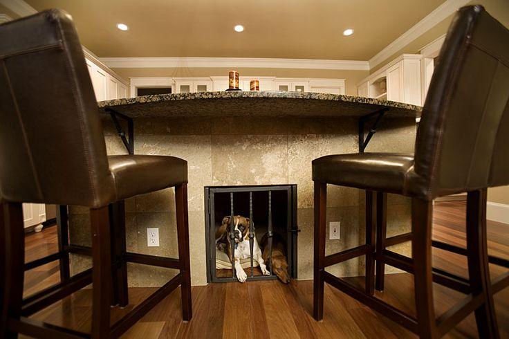 Dog Kennel Kitchen Island