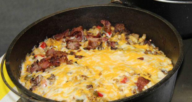 Mountain Man Dutch Oven Breakfast - 50 Campfires