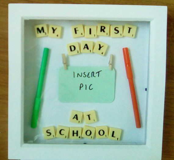 Check out this item in my Etsy shop https://www.etsy.com/uk/listing/455204522/my-first-day-at-schoolnursery