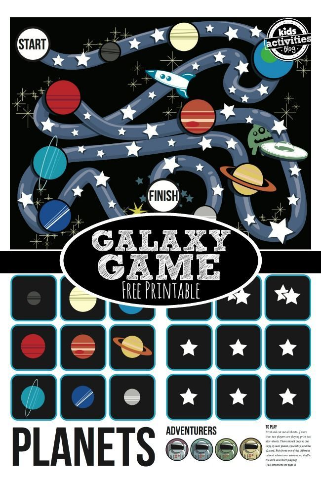 *FREE* Stars and Planets Printable Game: *FREE* Stars and Planets Printable Game