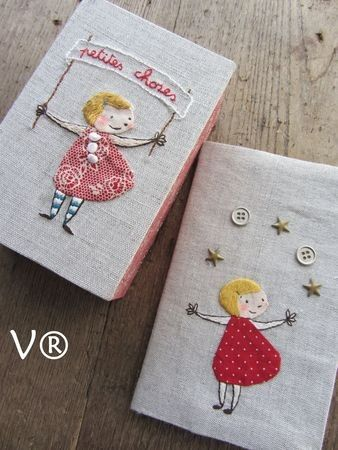 Little girl fabric applications