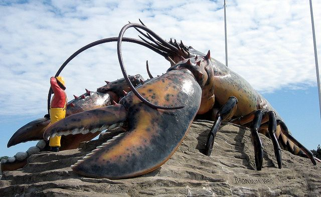 World's Biggest Lobster Sculpture, Rotary Park, Shediac, New Brunswick, Canada