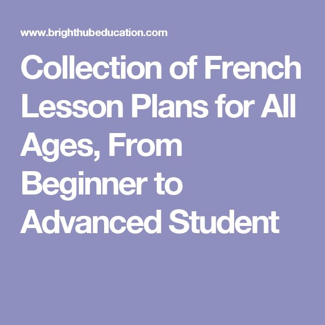 how to teach french to beginners