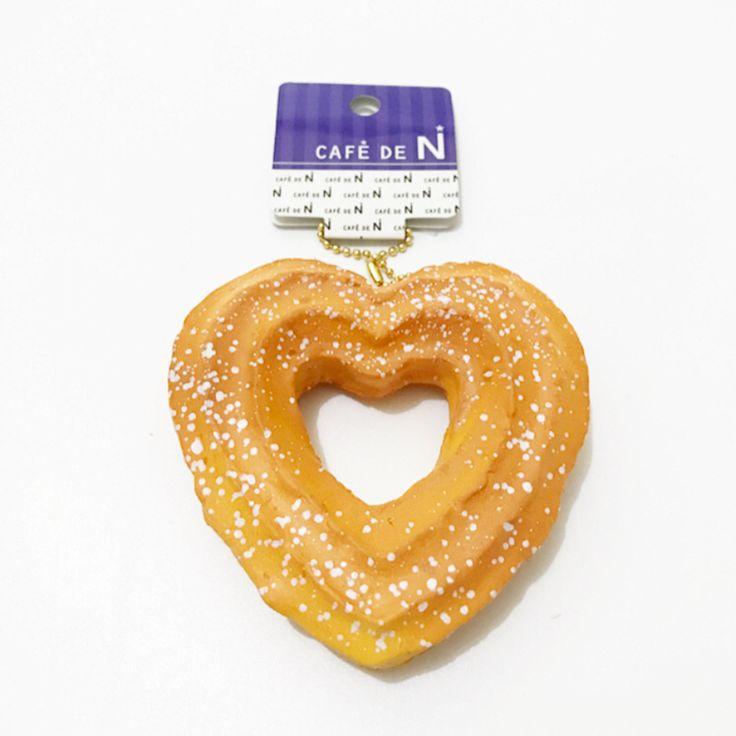 Original Japan cafe de n doughnut kawaii squishy slow rising soft kid toys squishies wholesale free shipping