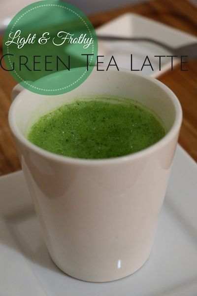 Light & Frothy Green Tea Latte - To Live & Diet in LA