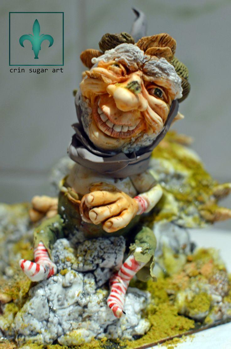 sugar paste elf