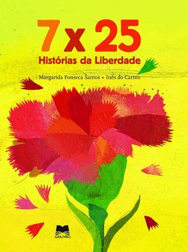 Sinopse: 7x25 Histórias da Liberdade é um conjunto de contos cujas personagens principais, falando na primeira pessoa, são objectos carregados de simbologia: o semáforo que travou a revolução durante uns minutos, o lápis da censura que, de repente, se vê como um elemento criativo nas mão de uma criança, a G3, o portão da prisão de Caxias, o megafone... 7 X 25 - Histórias da Liberdade de Margarida Fonseca Santos.