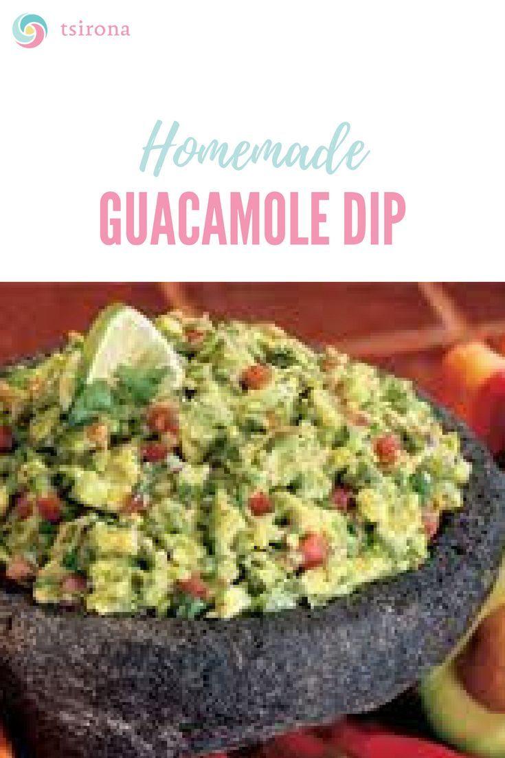 Homemade Guacamole Dip Tsirona Homemade Guacamole Homemade Guacamole Dip Guacamole Recipe