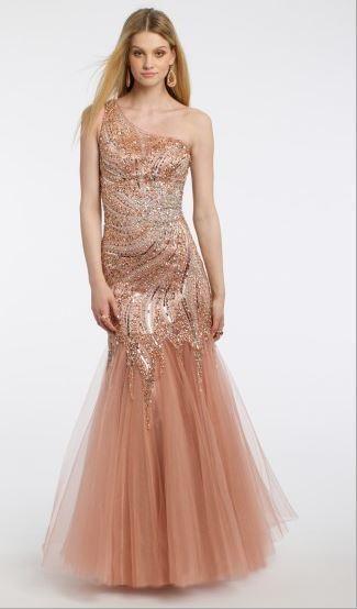 Sequin Beaded Tulle Dress