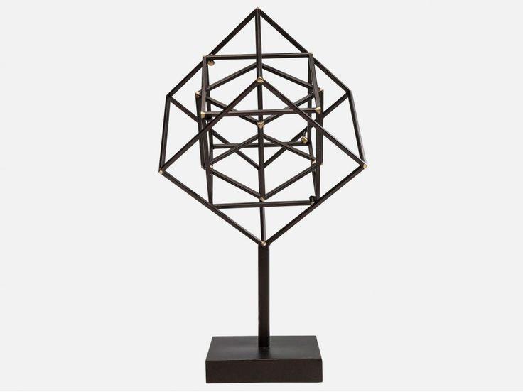 Figurka Dekoracyjna Prisma Cube — Figurki dekoracyjne — KARE® Design