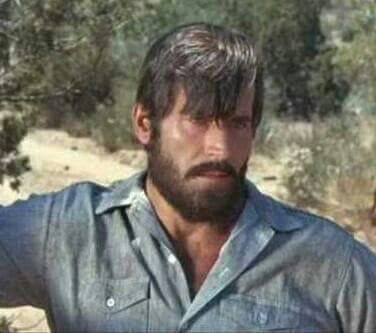 Clint with a beard.