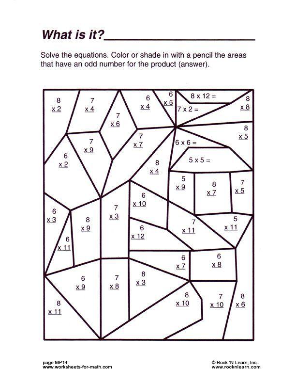 53 best math worksheets images on Pinterest